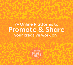 Promote creative work online