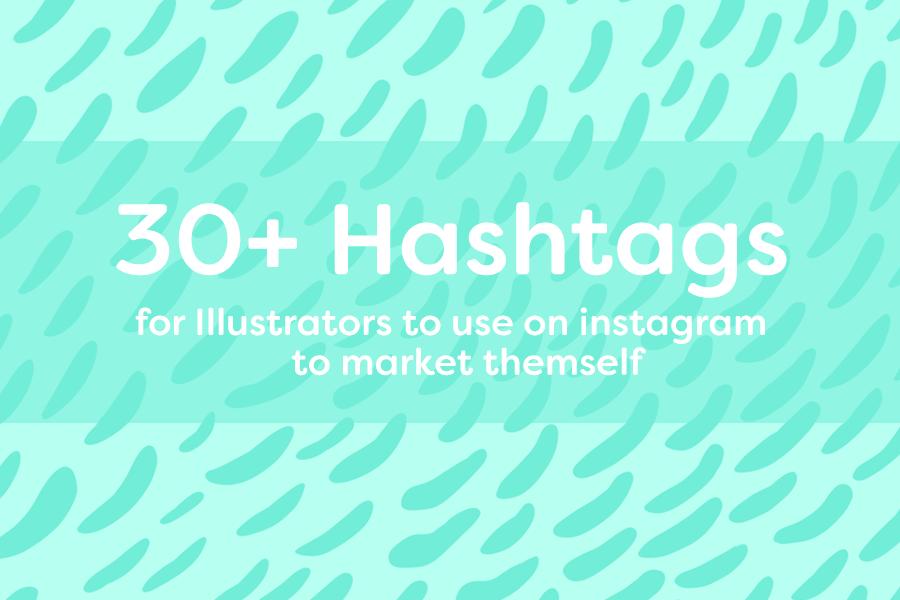 hashtags-illustrator