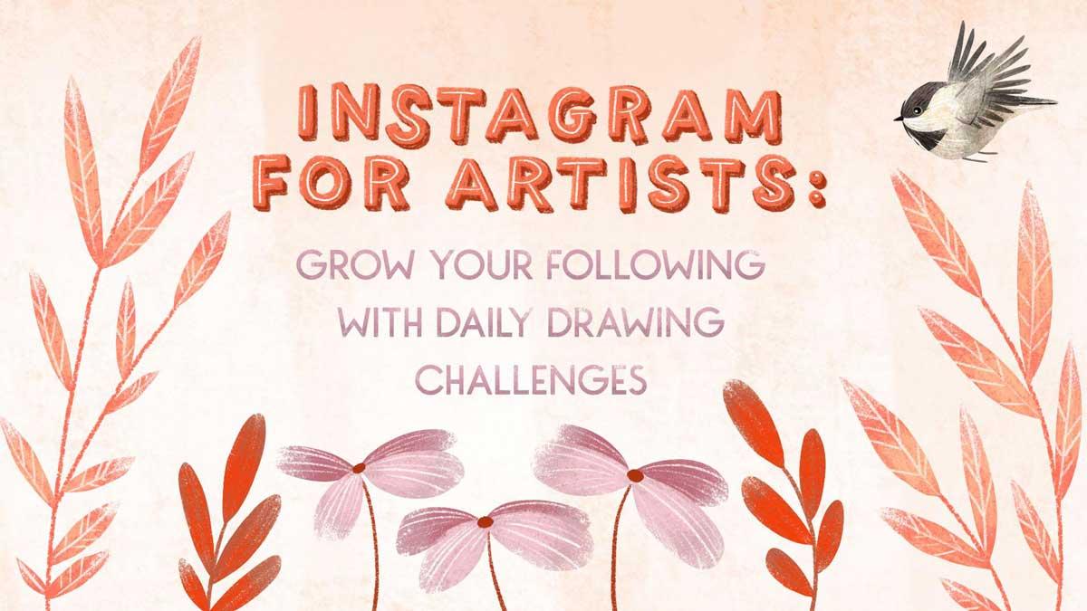 Instagram for artists - Skillshare course