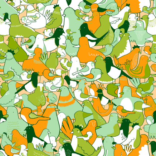 This is mine now – Pattern design by Jonas Welin