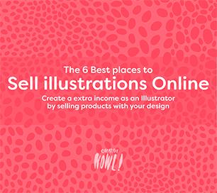Sell illustrations online