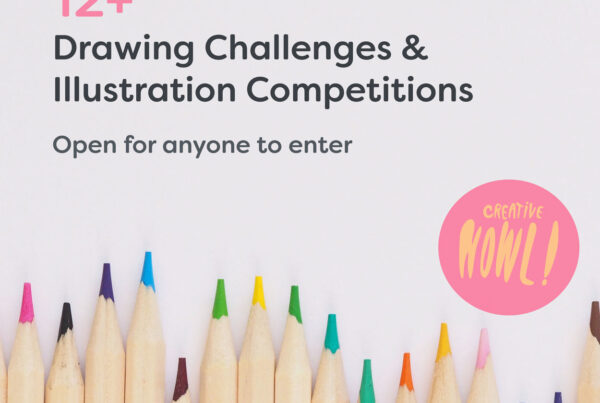 Drawing Challenges & Illustration Competitions