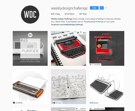 weeklydesignchallenge instagram