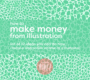 Make money with illustrations online