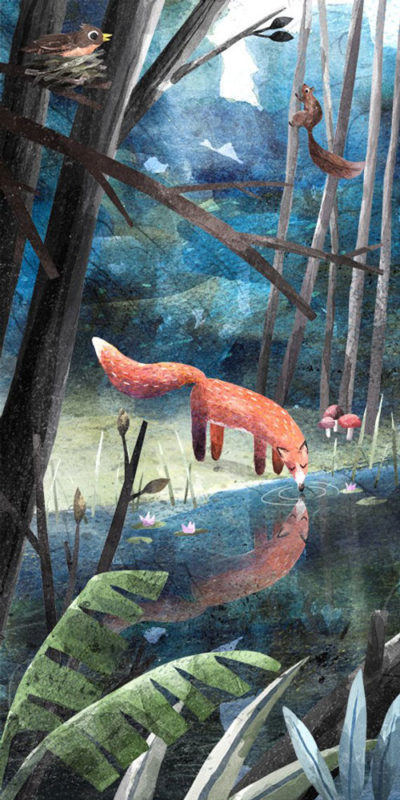 Richard-Smythe-fox-print