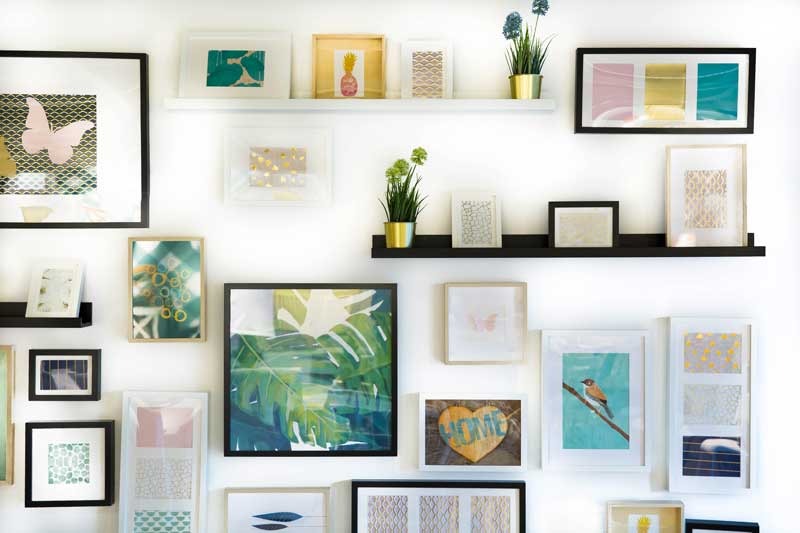 framed wall prints