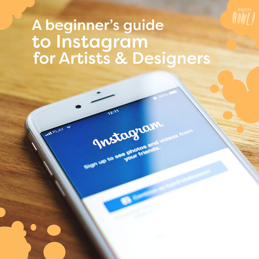 Instagram guide for artists