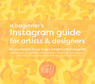 Instagram guide for artist/designers