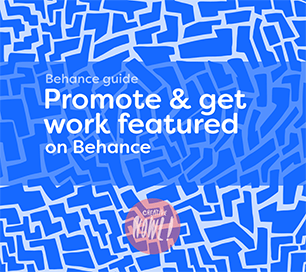 Promote work on Behance