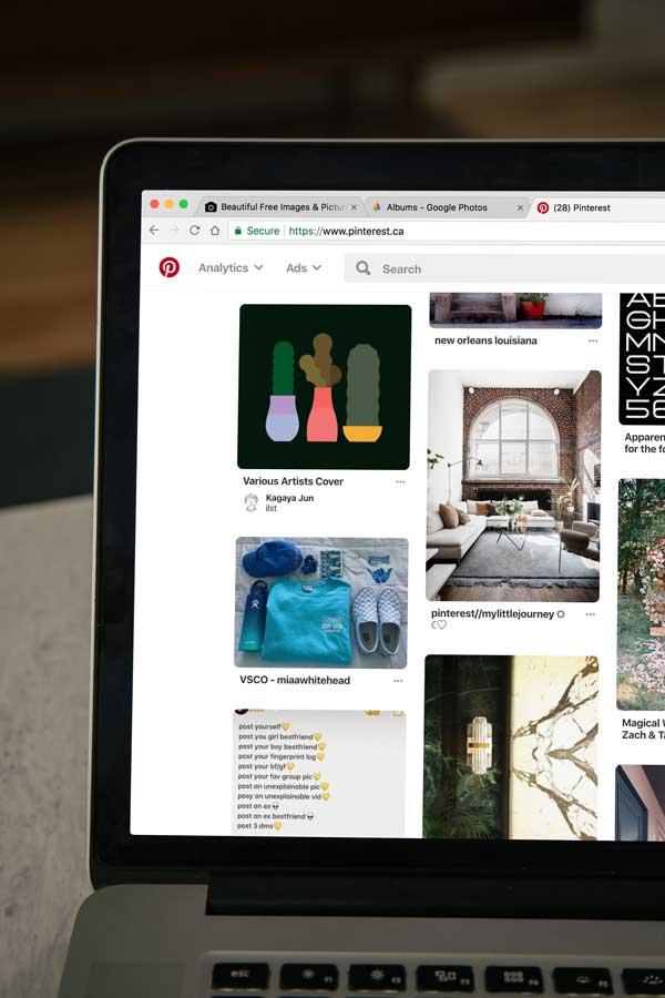 Promote Behance on Pinterest