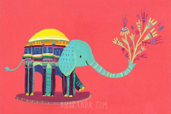 Ana Aranda elephant