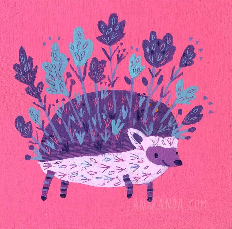 Ana Aranda hedgehog