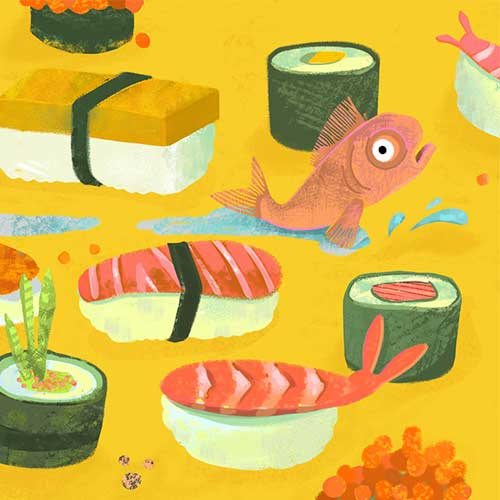 Sushi Escape by Marian Blair