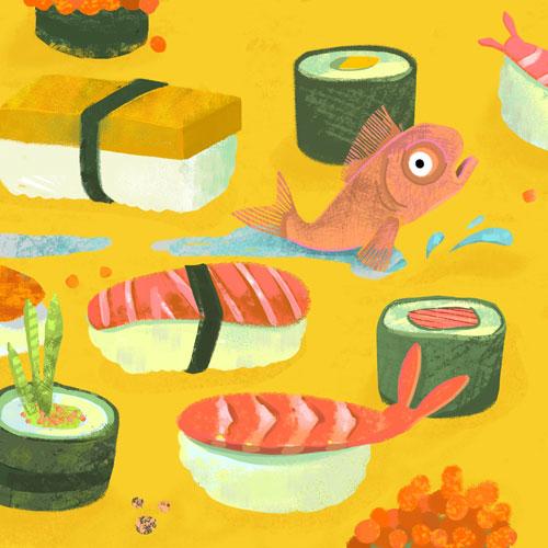 Sushi Escape by Marian Blair