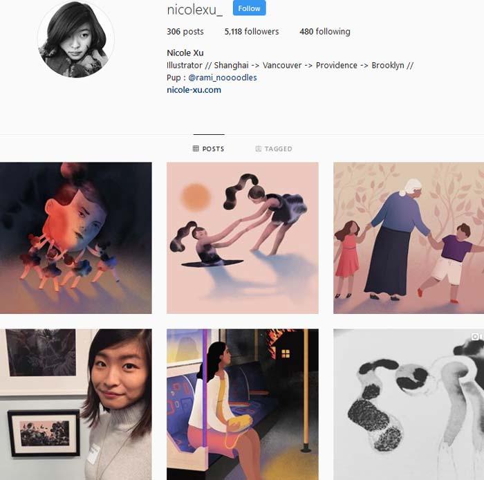 Nicole Xu Instagram