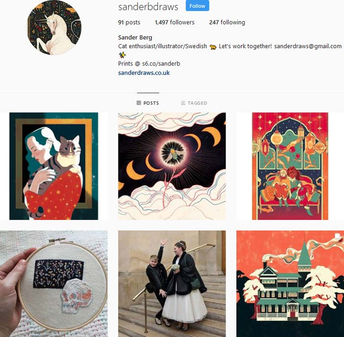Sander Berg Instagram