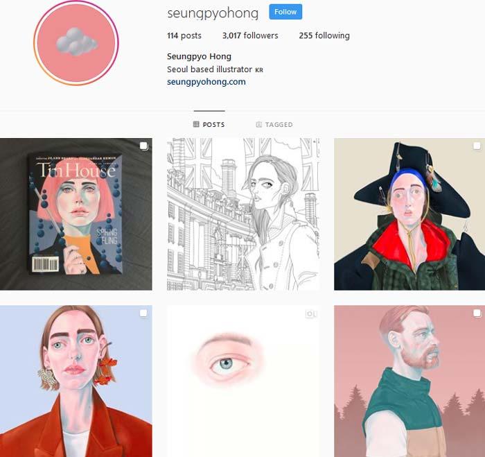 Seungpyo Hong Instagram
