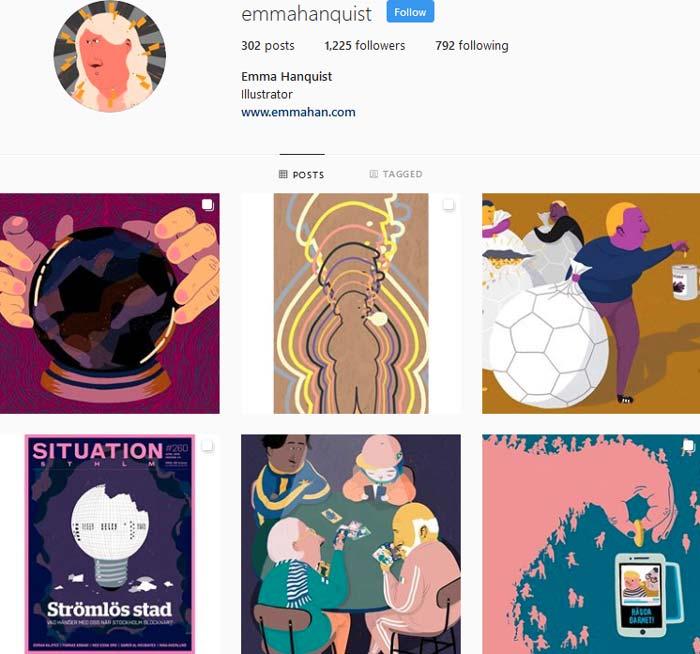 Emma Hanquist Instagram