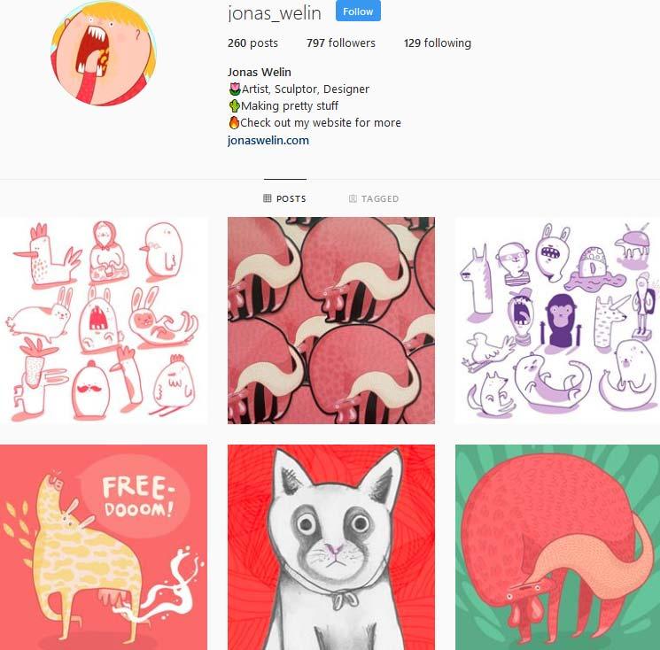 Jonas Welin Instagram