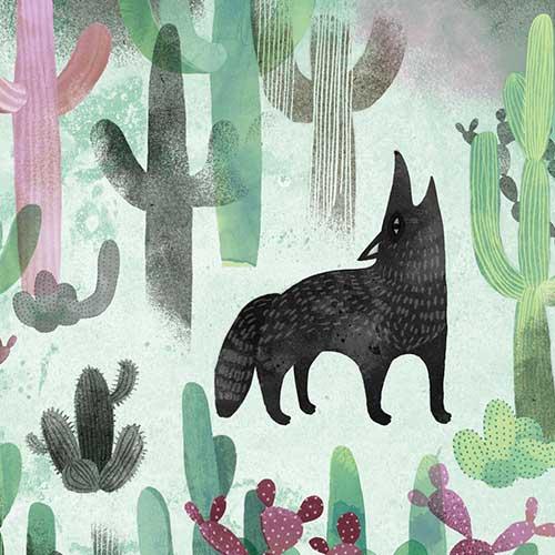 Arizona Coyote by Essi Kimpimäki