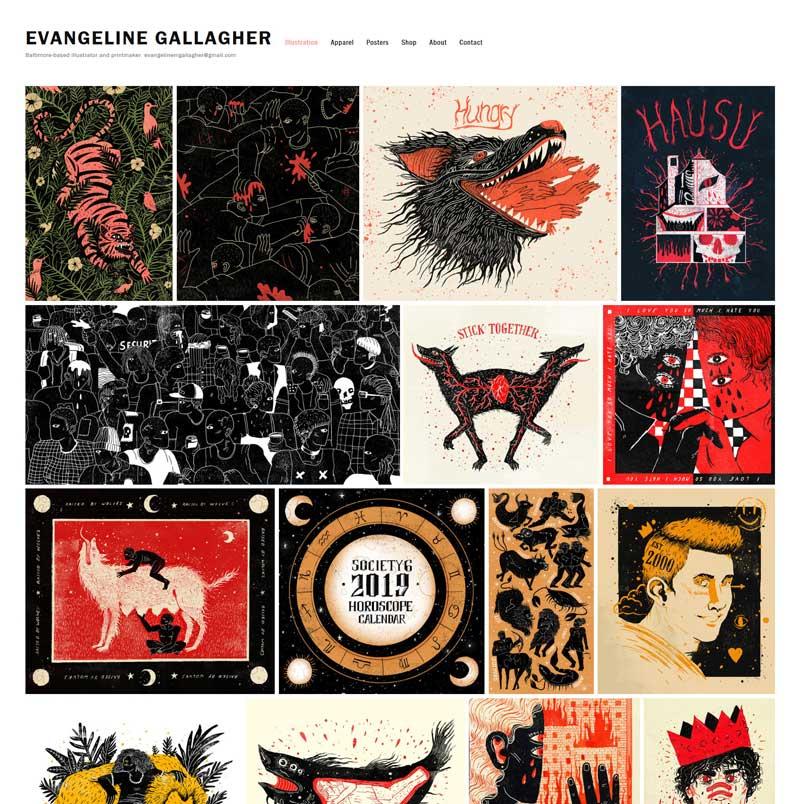 Evangeline Gallagher portfolio