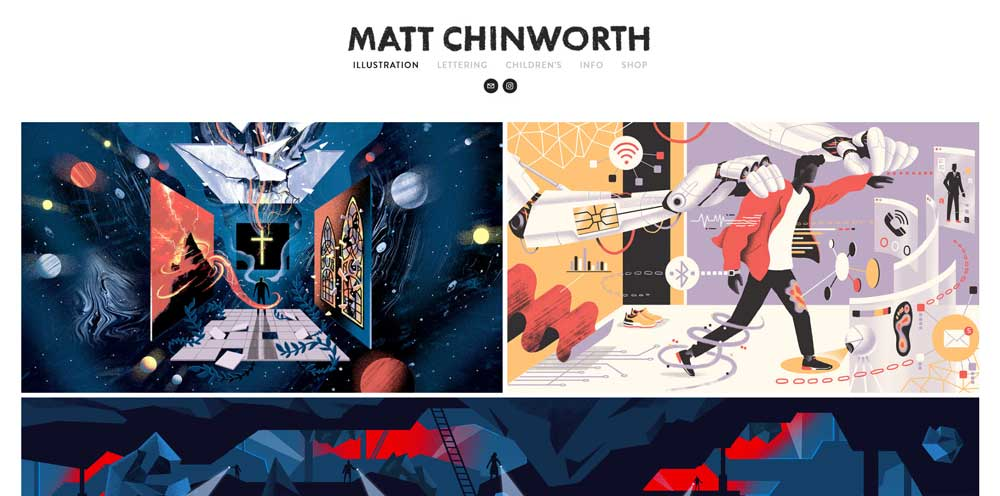 Matt Chinworth portfolio
