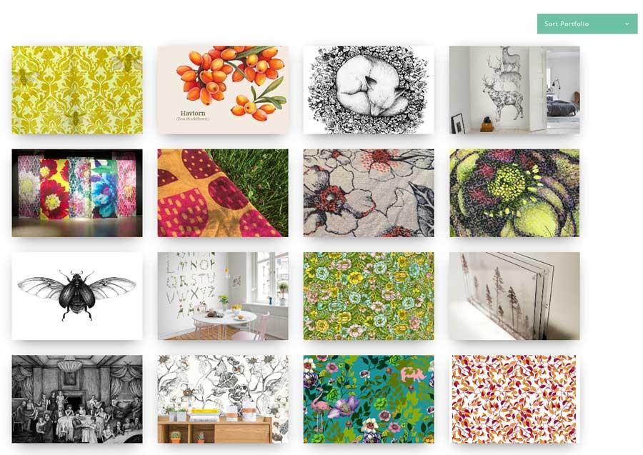 Linn warme illustration projects
