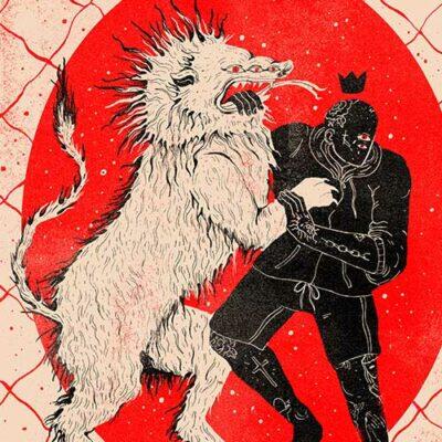 Evangeline-Gallagher-fight-the-lion-illustration