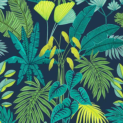 Plants pattern by Gizem Özden