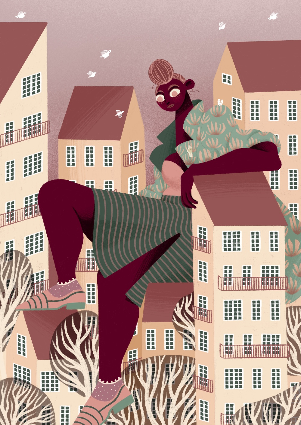 Outgrown by Iris van den Akker