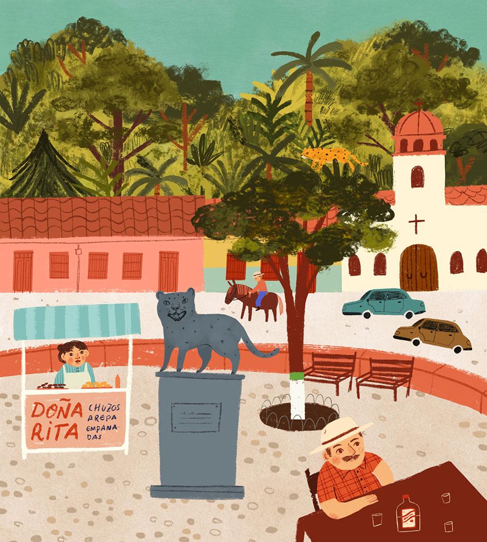 street view illustration