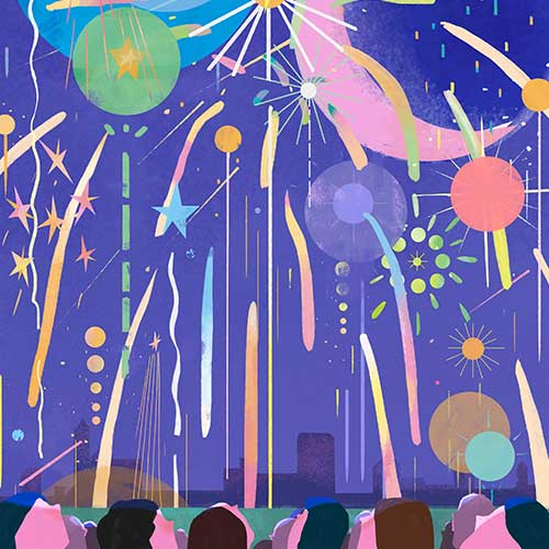 Fireworks by Jianan Liu