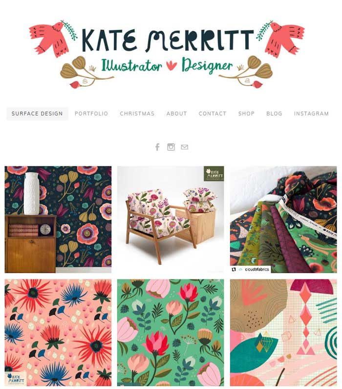 kate merritt's website