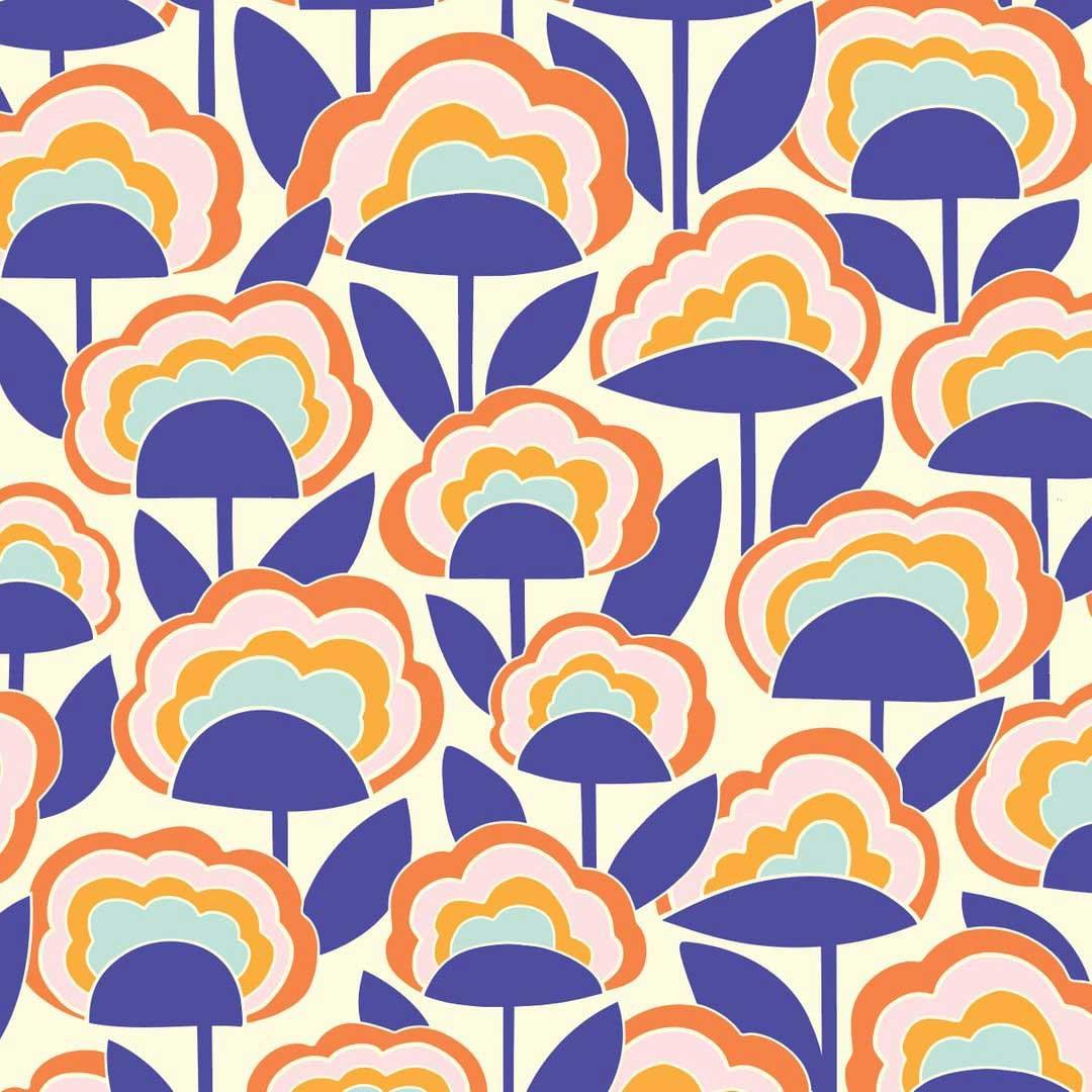 floral pattern by elizabeth olwen