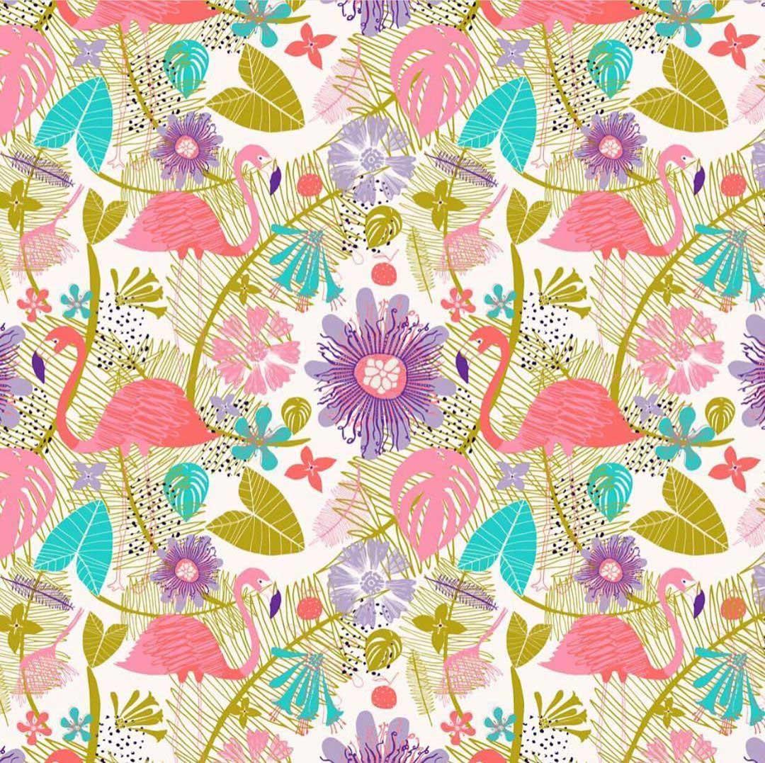 zoe_ingram flamingo art