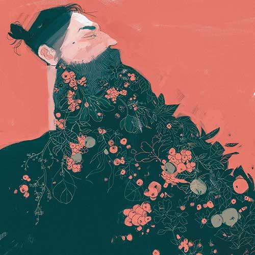 Grow a Beard by Darya Shnykina