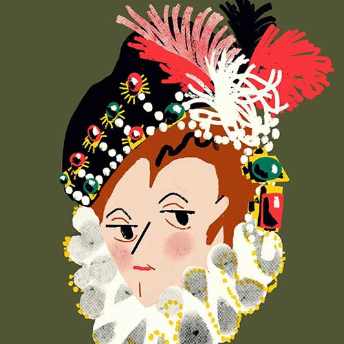 Elisabeth of Valois by Ailsa Johnson