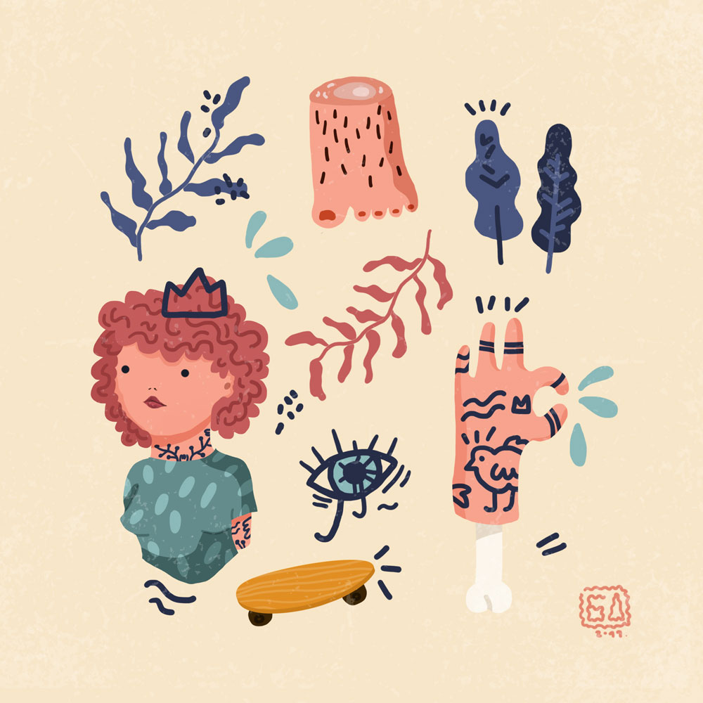 Composition illustration