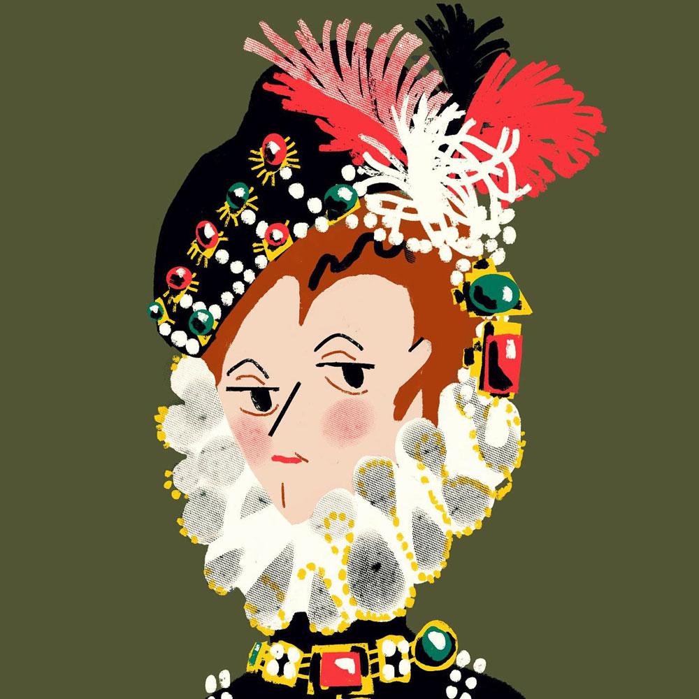 Elisabeth of Valois illustration