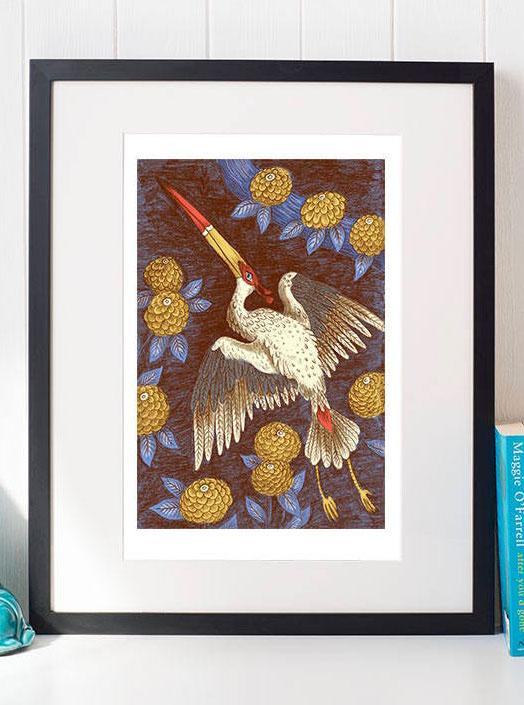 Freya Hartas bird prints