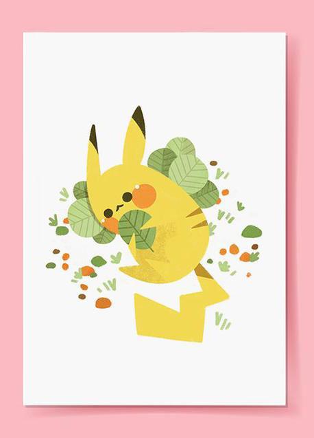 HelenBucher pikachu illustration
