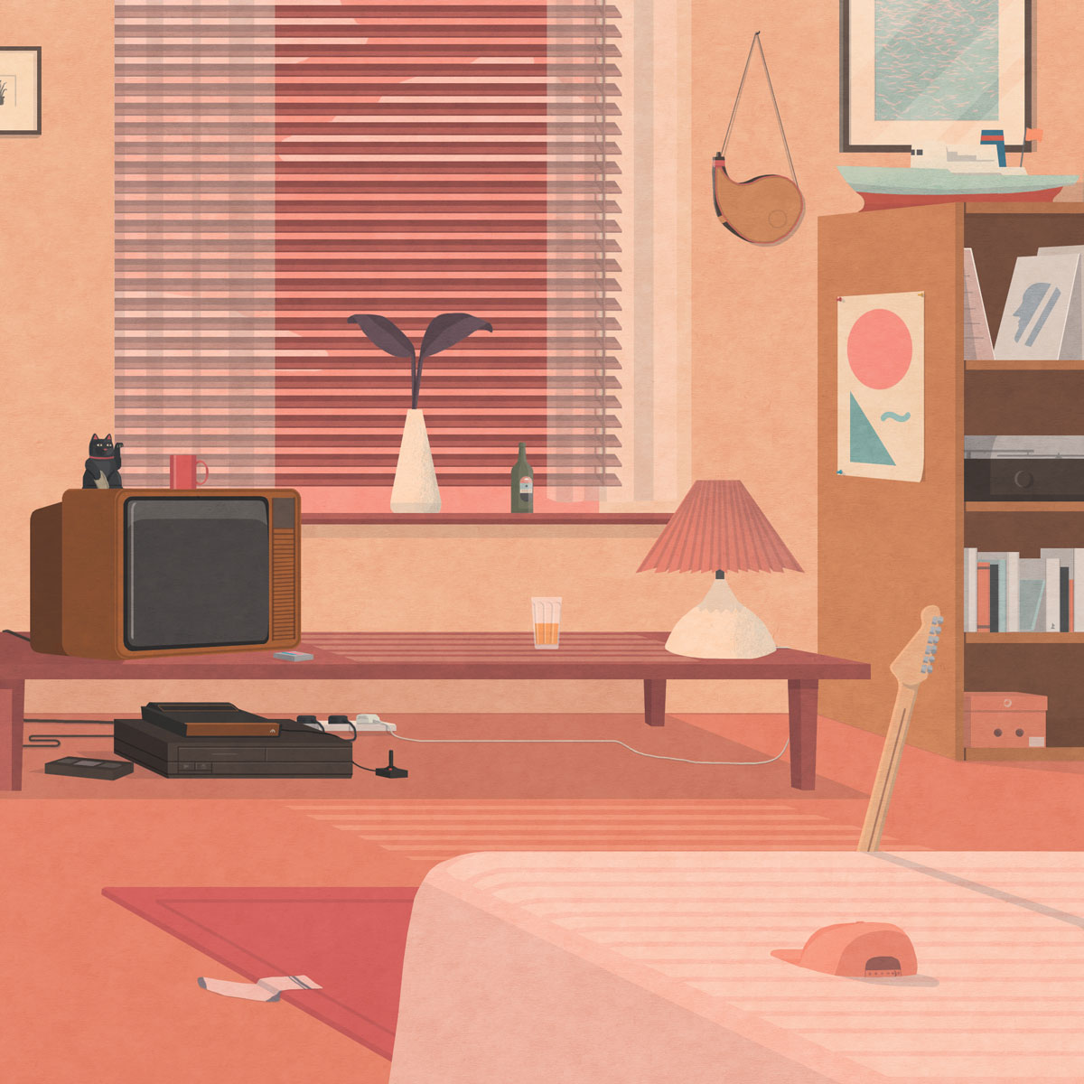 Imaginary Room illustration by Ross Becker