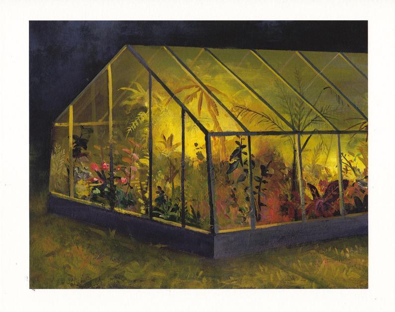 Jeremy Miranda greenhouse print