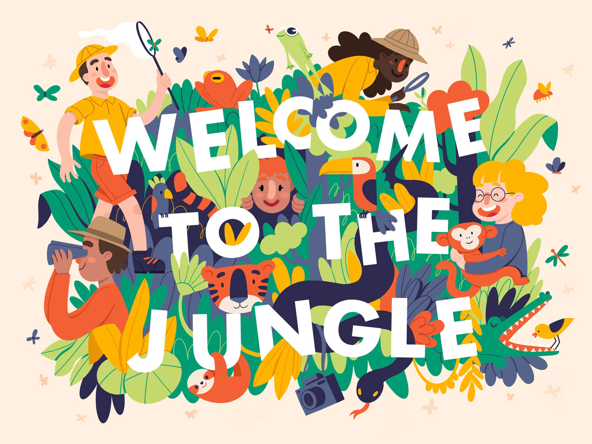 """Welcome to the Jungle"" by Jill Goritschnig"