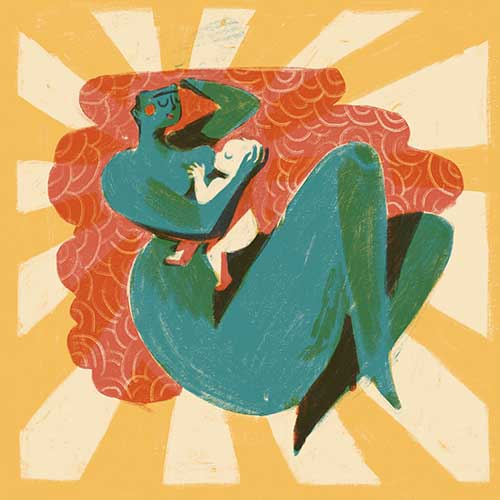 The Joy of Breastfeeding by Jody Ghani Nordby