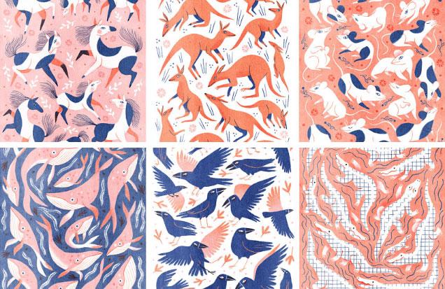 Kelsey Buzzell animal prints shop