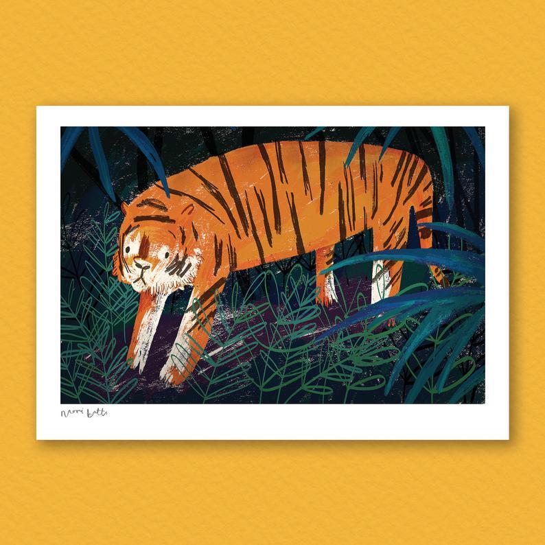 NaomiBatts tiger print