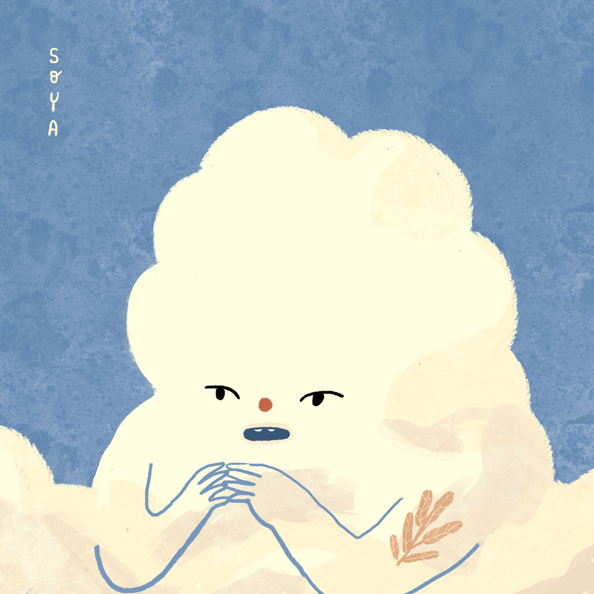 cloud illustration by Sonya Rakhimzhanova