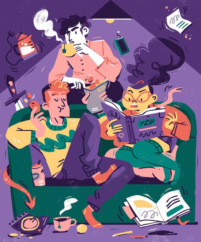 Susanna Rumiz illustration