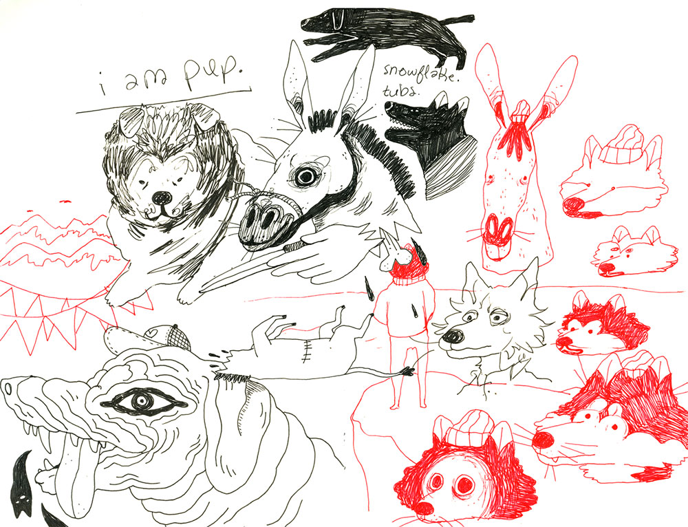 Alison Polston sketch illustration